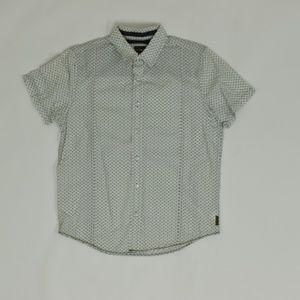 Prana Regular SML Multicolor   Button Down Cotton